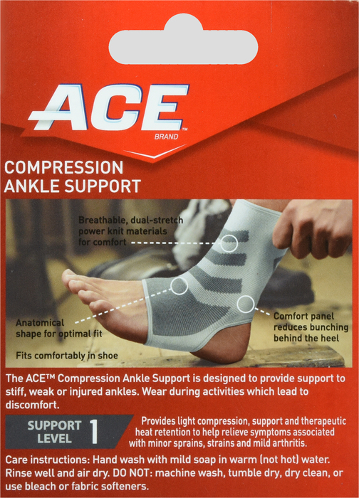 '.Ace KNITTED ANKLE BRACE MEDIUM.'