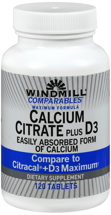 '.Calcium Citrate+D Tablet 120Ct Windml By.'