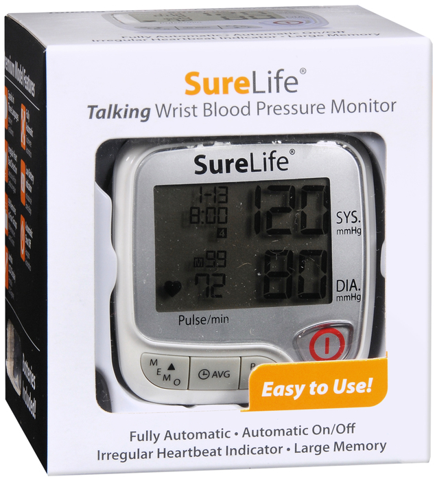 SURELIFE Blood Pressure Monitor TALKING WRIST  By MHC Medical ONE CASE OF 24