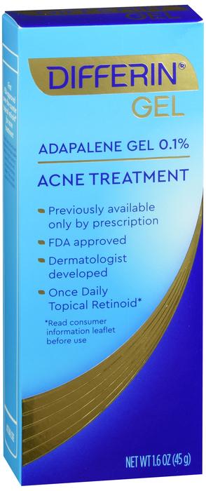 Differin Acne Treatment Gel 1.6 Oz