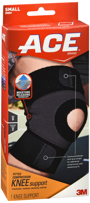 Ace Knee Support Moist Control Small