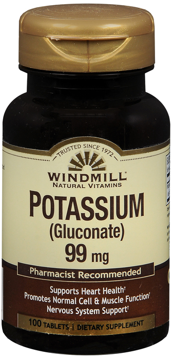 Windmill Pot Gluc 600(99) mg Tab 100 By Windmill Health Products Item No.:4165858 NDC No.: 35046000348 UPC No.: 035046003487 Item Description: Misc Mineral Supplements Other Name: Windmill Pot Gluc T