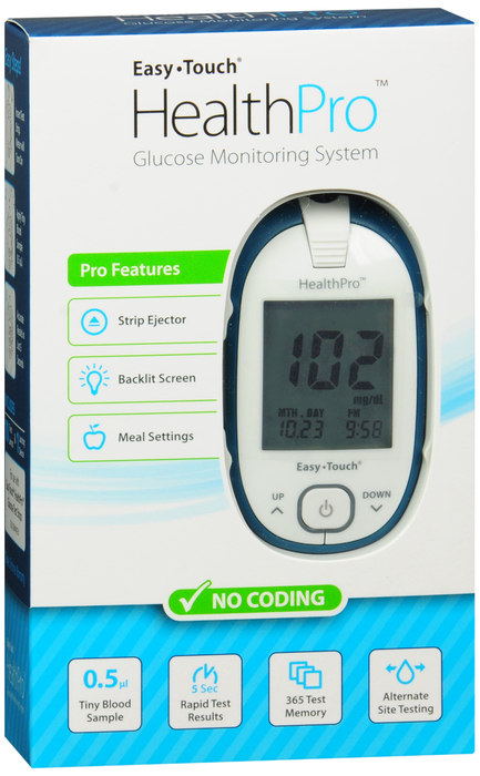'.Easy Touch HealthPro Meter Kit by MHC.'
