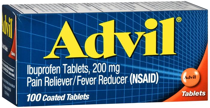 Advil 200 mg Tab 100 by Pfizer