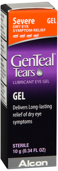 CASE OF 24  Genteal Lubricant Eye Gel Each 10ml