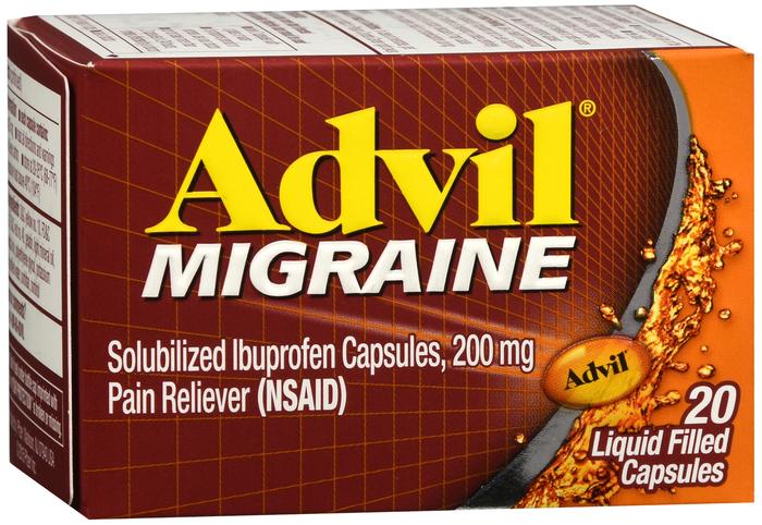 Advil Migraine 200 mg Cap 20 by Pfizer