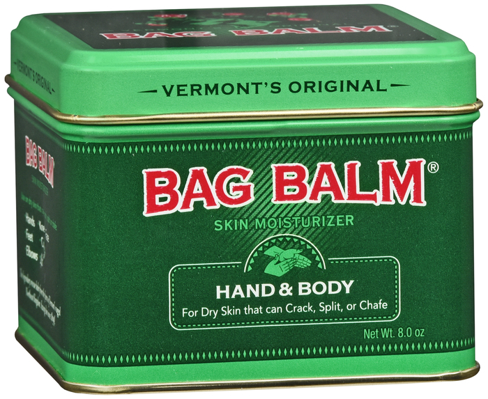 Bag Balm 8oz  Bag Balm 8oz By Emerson Healthcare Llc Item No.:4242432 Ndc No.: Upc No.: 098193000174 Item Description: Therapeutic Hand & Body Other Name:Bag Balm Therapeutic Code: Therapeutic Class: