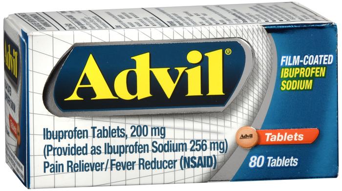 Advil Film Coated Tablet 80Ct