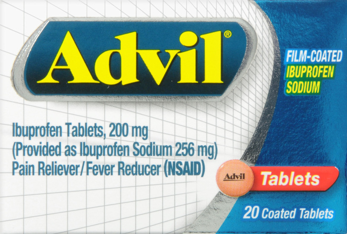 Advil Film Coated Tablet 20Ct by Pfizer