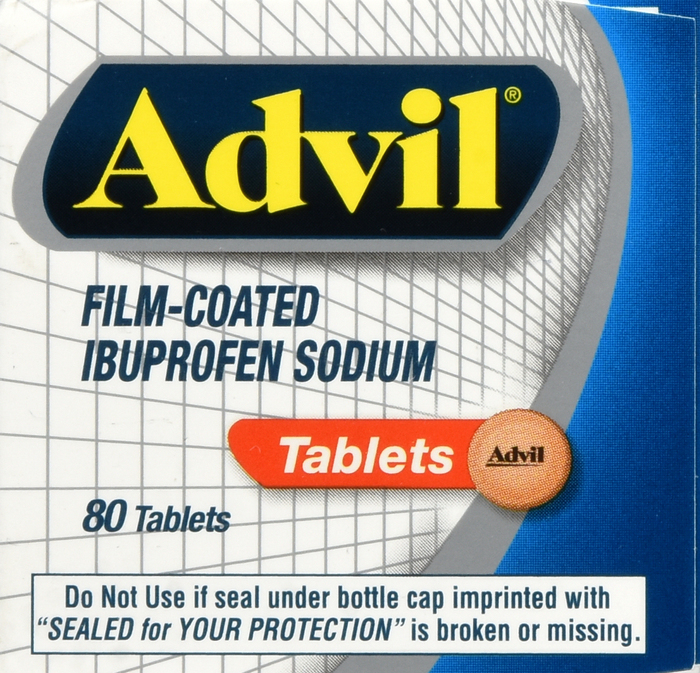 Advil Film 80 By Pfizer Pharma Item No.:OTC220968 NDC No.: UPC No.: 3-05730-13380-7 305730-133807 305730133807
