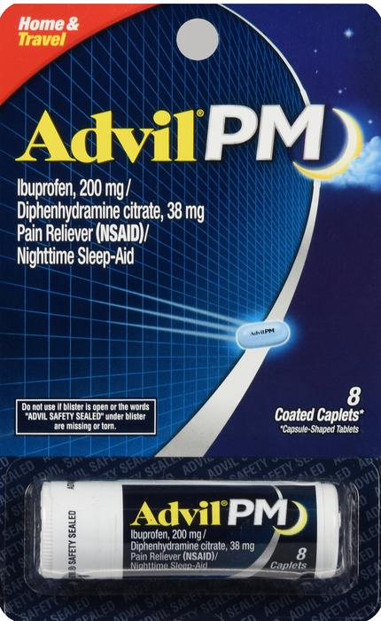 '.ADVIL PM VIAL BLISTER CAPLET 1.'