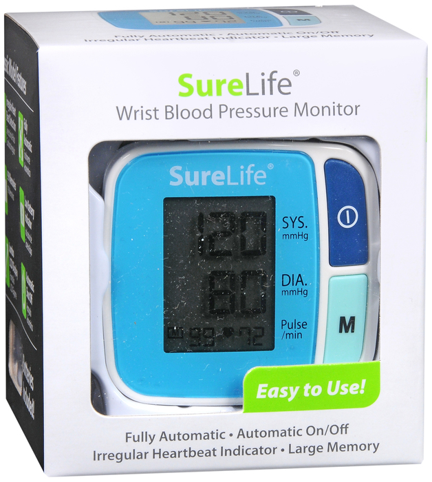 Surelife Blood Pressure Monitor AUTO WRIST  By MHC Medical ONE CASE OF 24