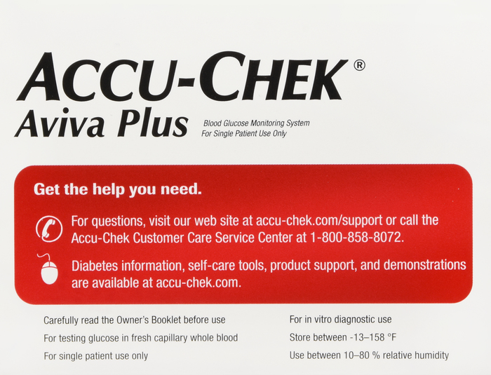 Accu-Chek Aviva Plus Care Meter Kit by Roche Diagnostic