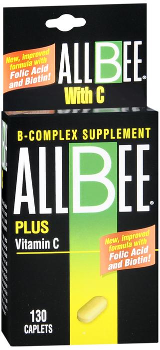Allbee C Tab 130 By International Vitamin Corporat