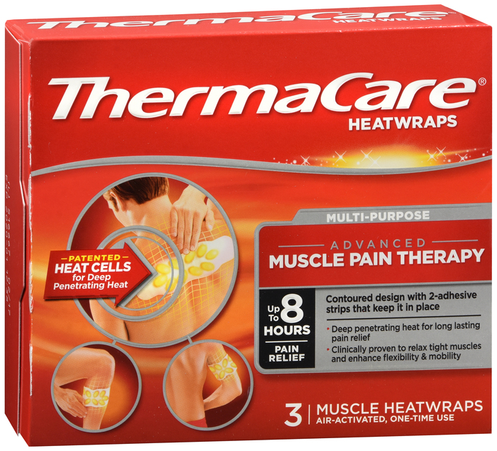 THERMACARE 8 HOUR MUSCLE & JOINT 3CT By Pfizer