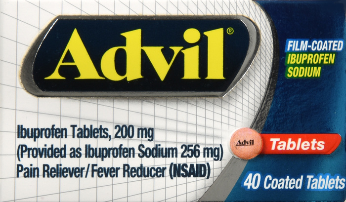 Advil Film Coated Tablet 40Ct BY PFIZER