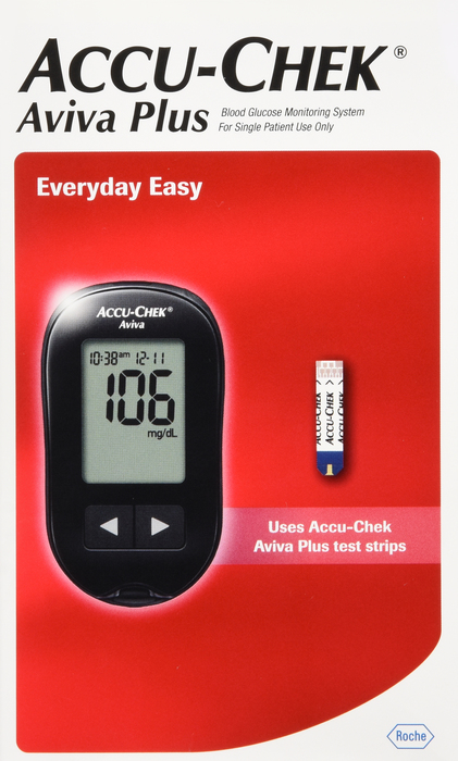 Accu-Chek Aviva Meter Kit By Roche Diagnostic