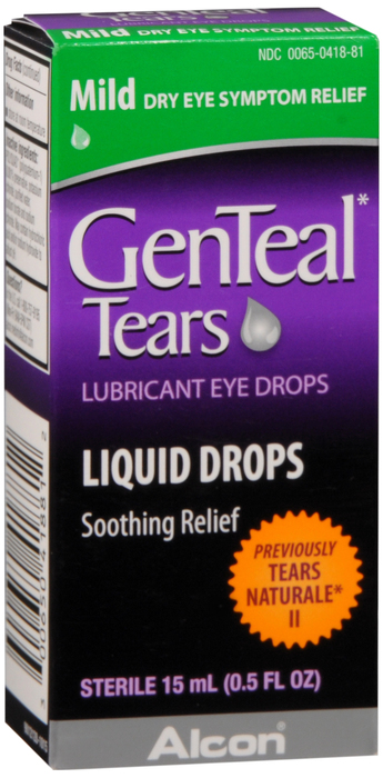 Genteal Mild Eye Drops0.2 % Drp 15ml
