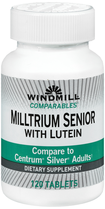 Windmill Multrium Tab 120 By Windmill Health Products Item No.:4896542 NDC No.: 35046000049 UPC No.: 035046000493 Item Description: Multivitamins Other Name: Windmill Multrium Therapeutic Code: 88280