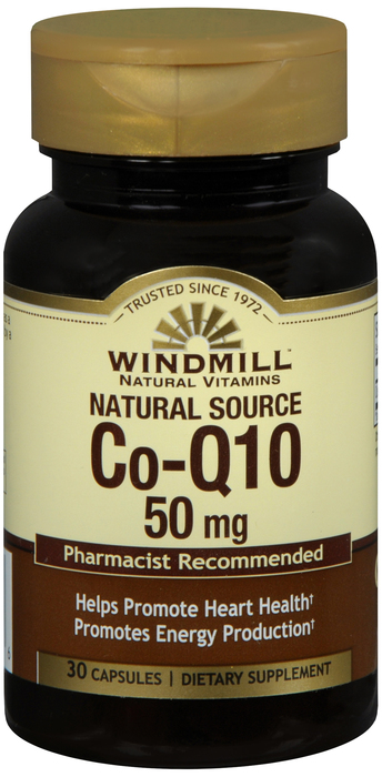 Windmill Co-Enzyme 50 mg Cap 30 By Windmill Health Products Item No.:4171936 NDC No.: 35046000431 UPC No.: 035046004316 Item Description: Enzymes, Amino Acids & Hormone Other Name:Windmill Co-Enzyme T