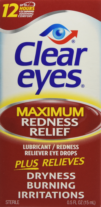 '.Clear Eyes Maximum Redness Rel.'