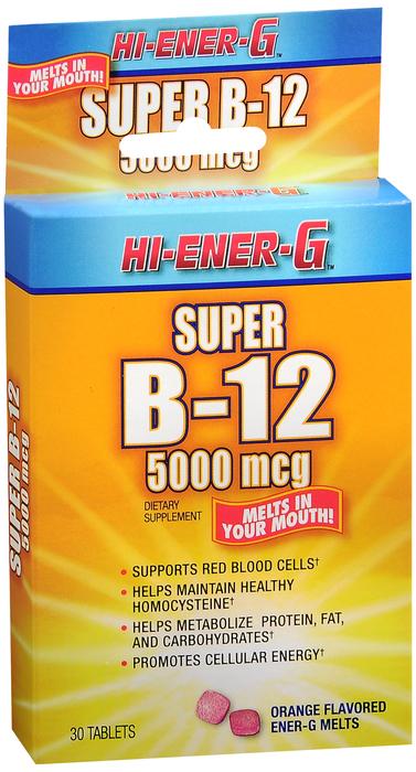 Hi-Energy-G Vit B12 30 By Windmill Health Products