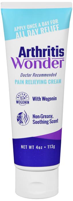 Arthritis Wonder Pain Relieving Cream 4 Oz