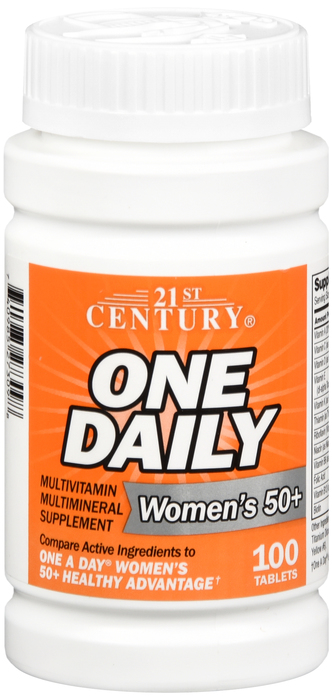 One Daily Women 50+ Multi Tab 100 Count 21St