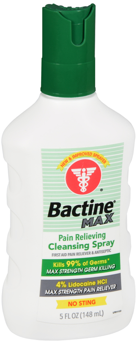 Bactine Pain Relieving Spray 5 Fl oz One Case Of 12 REPLACED ITEM 811-15