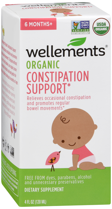 Wellements Baby Constipation Support 4 Oz