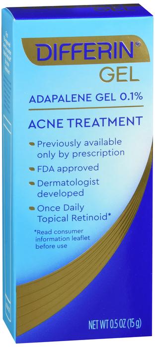 Differin Acne Treatment Gel 0.5 Oz