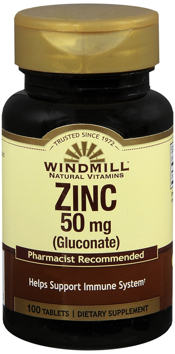 Windmill Zinc Gluc 100 By Windmill Health Products Item No.:4161765 NDC No.: UPC No.: 035046004163 Item Description: Misc Mineral Supplements Other Name:Windmill Zinc Gluc Therapeutic Code: Therapeuti