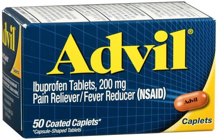 '.Advil 200 mg Caplet 50Ct.'
