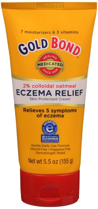 Gold Bond Eczema Relief Cream 5.5 Oz