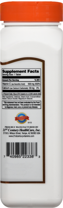 '.VITAMIN C 500MG TAB 250CT 21ST.'