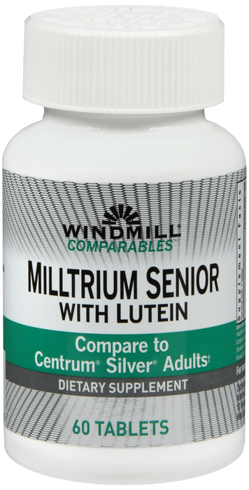 Windmill Milltrium 60 By Windmill Health Products Item No.:4159867 NDC No.: UPC No.: 035046000585 Item Description: Multivitamins Other Name: Windmill Milltrium Therapeutic Code: Therapeutic Class: V