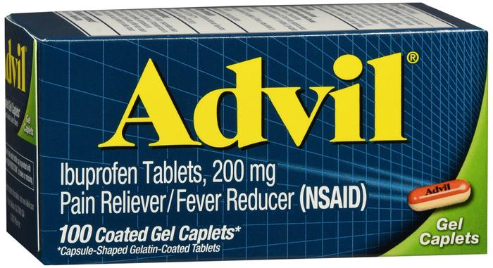 Advil Gelcap 100 Count By Pfizer Pharma Item No.:OTC404780 NDC No.: 00573016540 00573-0165-40 00573-165-40 UPC No.: 305730165402 3-05730-16540-2 305730-165402 Item Description: Misc Pain Relief Other