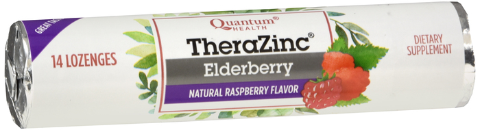 Zinc Elderberry Loz 14 Count 12Pc Disp By Quantum
