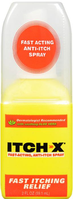 Itch-X Anti Itch Pramoxine Hcl/Benzyl Alcohol Topical 1 %-10 %Spray 2 oz