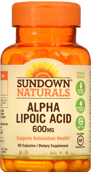 '.ALPHA LIPOIC ACID 600MG CAP 60.'