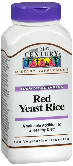 Red Yeast Rce 600 mg Cap 150 By 21st Century Nutritional Prod/Good Neighbor Pharmacy (GNP) Item No.:4487569 NDC No.: 40985022908 UPC No.: 740985229088 Item Description: Misc Herbals & Botanicals Other