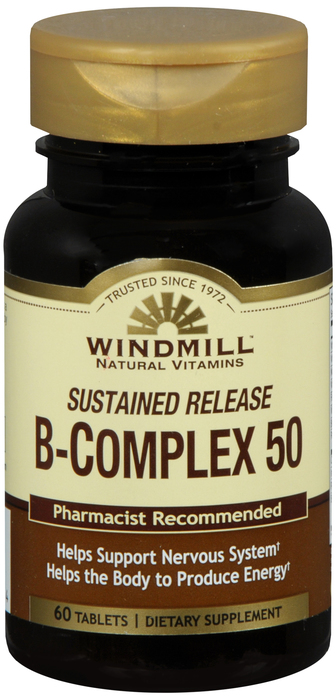B-Complex 60 By Windmill Health Products