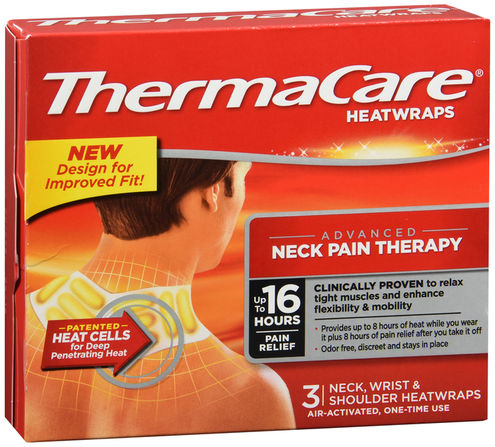 Thermacare 8Hr Neck/Shouldr/Wrist 3 Count By Pfizer
