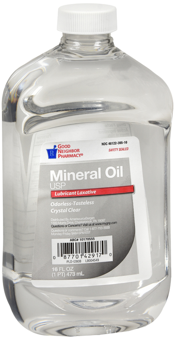 GNP MINERAL OIL HEAVY LIQ 12X16OZ Mfg by PL Development