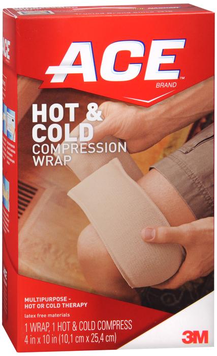 ACE HOT/COLD COMPRESS WRAP REUSEABLE