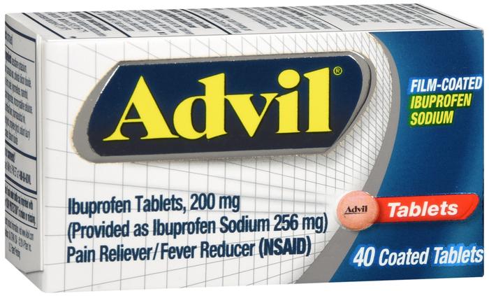 '.Advil Film Coated Tablet 40Ct.'