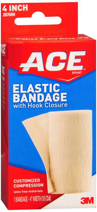Ace Elastic Bandage W/Velcro 4 h