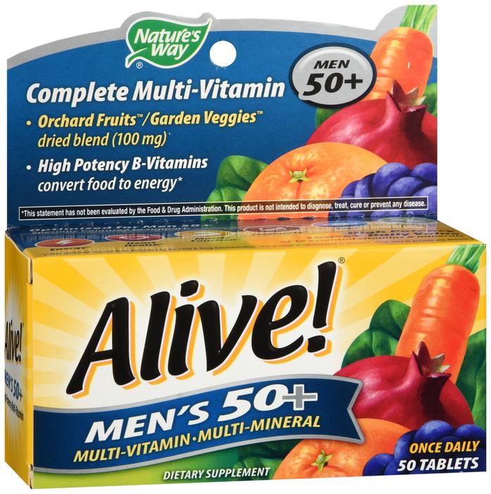 Alive Men 50+ 50 By Schwabe North America