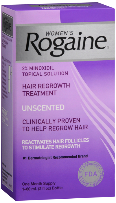 Rogaine Women 2 % Sol 2 oz By J&J Consumer Item No.:4937649 NDC No.: 12547078020 UPC No.: 312547780209 Item Description: Hair Growth Shampoo & Conditio Other Name:Rogaine Women Therapeutic Code: 84920