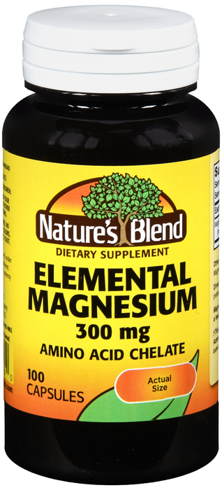 Magnesium 300mg Cap 100 Count Nature's Blend